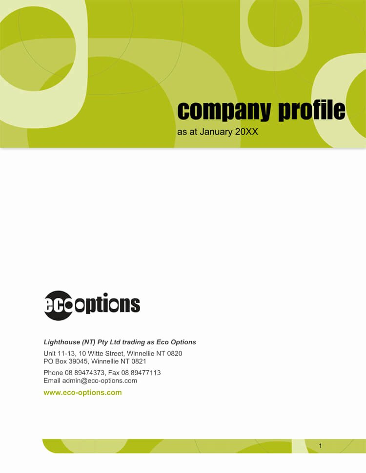 Profile Template Word New 20 Pany Business Profile Templates for Word