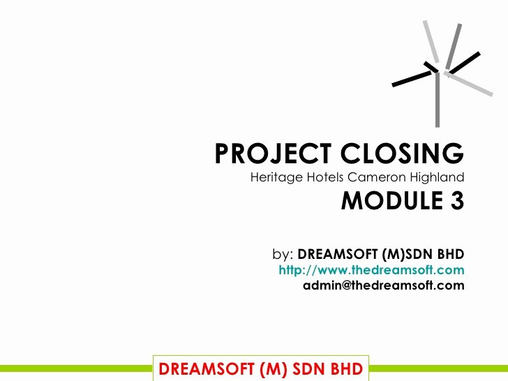 Project Closeout Report Template Awesome Final Project Closing