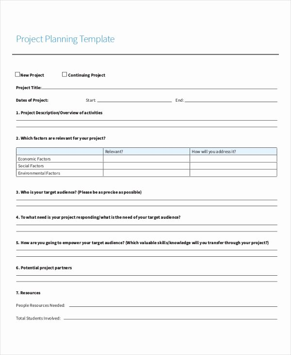 Project Data Sheet Template Best Of Project Sheet Template 7 Free Pdf Documents Download