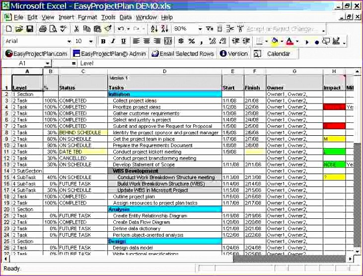 Project Plan Template Excel Free Elegant 14 Free Project Plan Template Excel Exceltemplates