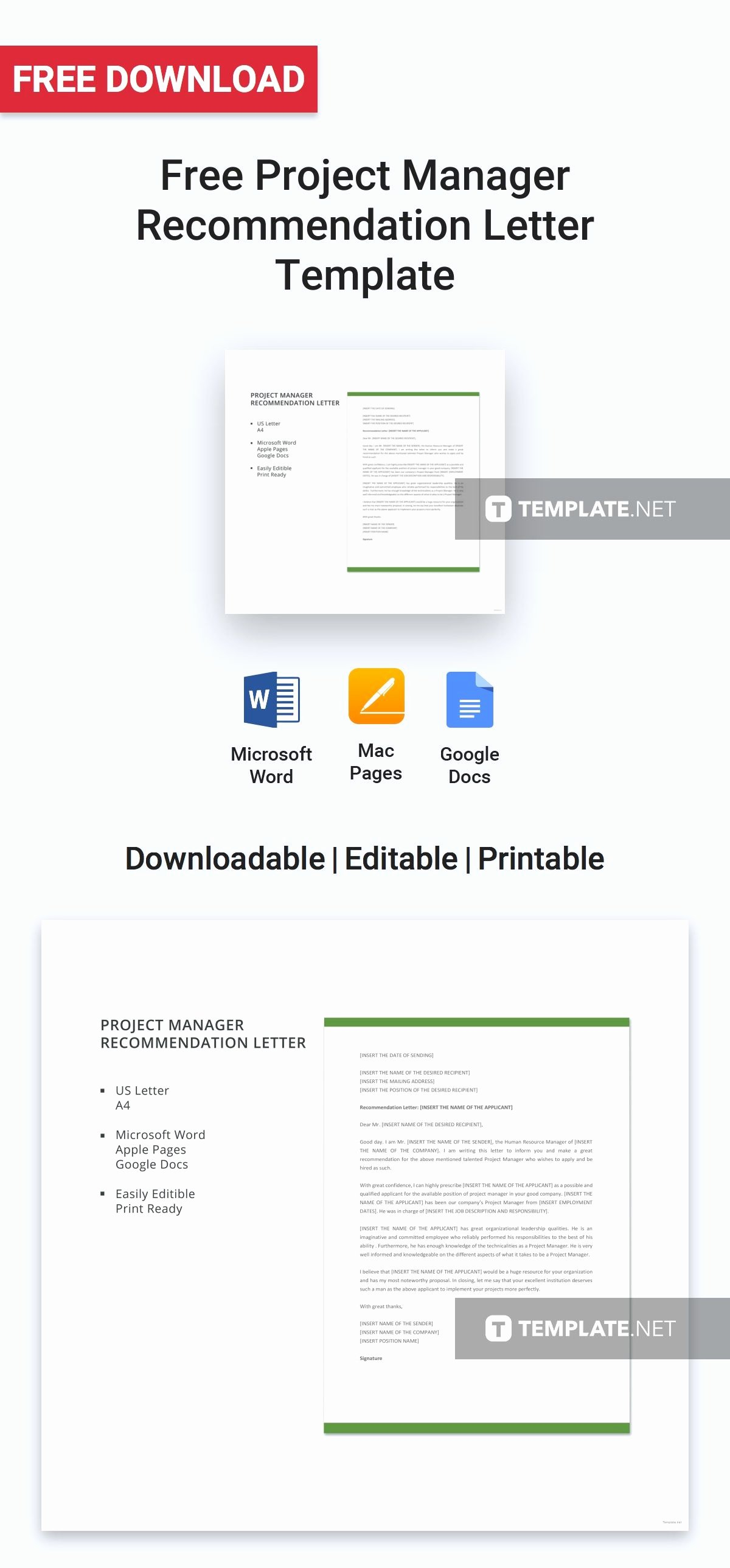 Project Recommendation Template Awesome Project Management Re Mendation Letter Wallpaperzen