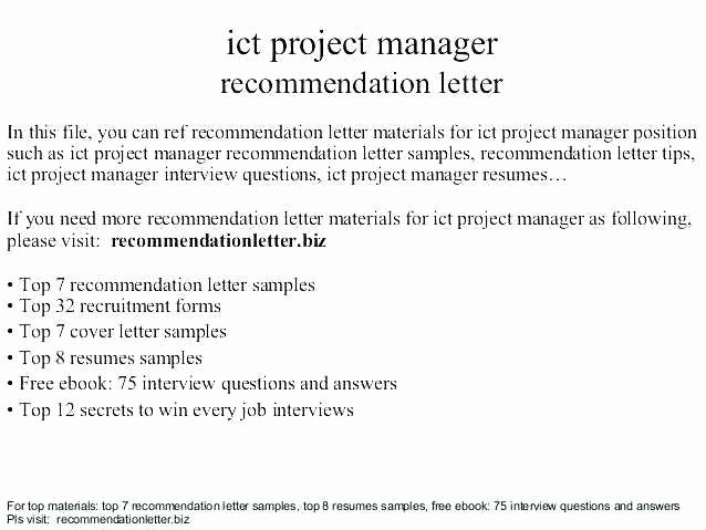 Project Recommendation Template Beautiful Eagle Scout Letter Re Mendation Request Sample