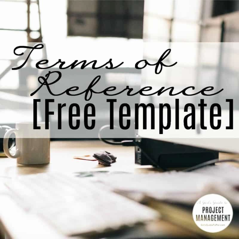 Project Recommendation Template Fresh Terms Of Reference [free Template] • Girl S Guide to