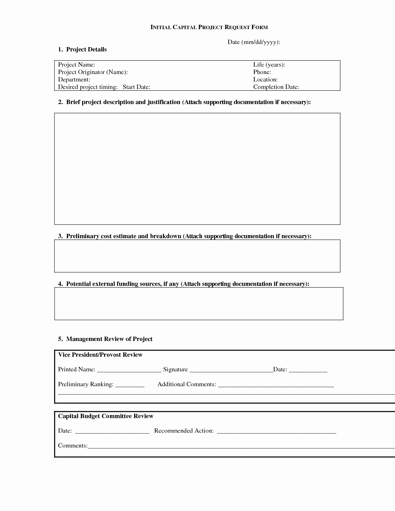 Project Request form Template Inspirational Best S Of It Project Request form Template Project