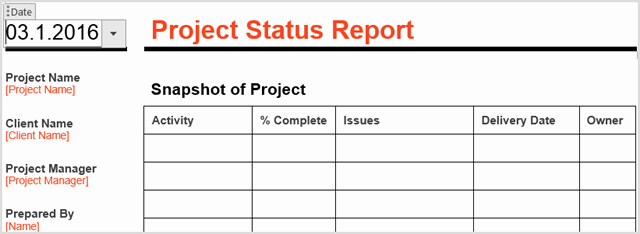 Project Status Meeting Agenda Awesome How to Manage Your Project with Word Templates