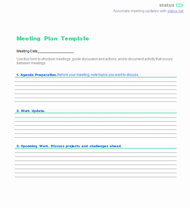 Project Status Meeting Template Elegant How to Write Agendas for 8 Types Of Meetings [the Plete