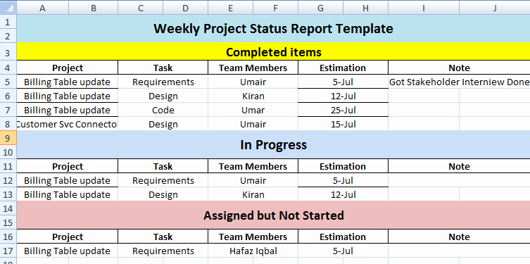 Project Status Report Template Excel Unique if You Want to Keep Track Of Employee's Working that