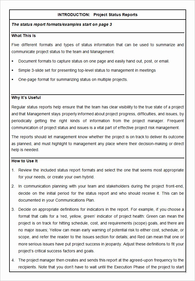 Project Status Update Email Sample Awesome 17 Project Template Doc Pdf Ppt