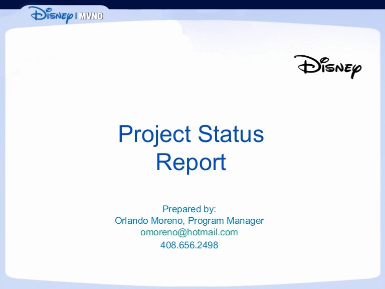 Project Status Update Email Sample Fresh Project Status Report Sample