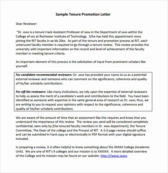 Promotion Announcement Letter Best Of Sample Promotion Letter 15 Free Samples Examples