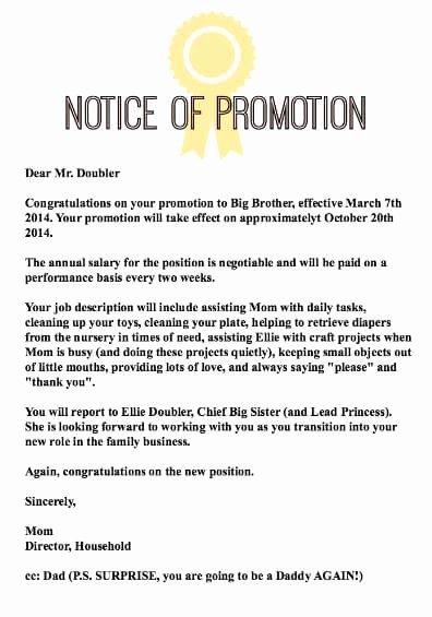 Promotion Announcement Letters Unique How to Make Pregnancy Announcements Again