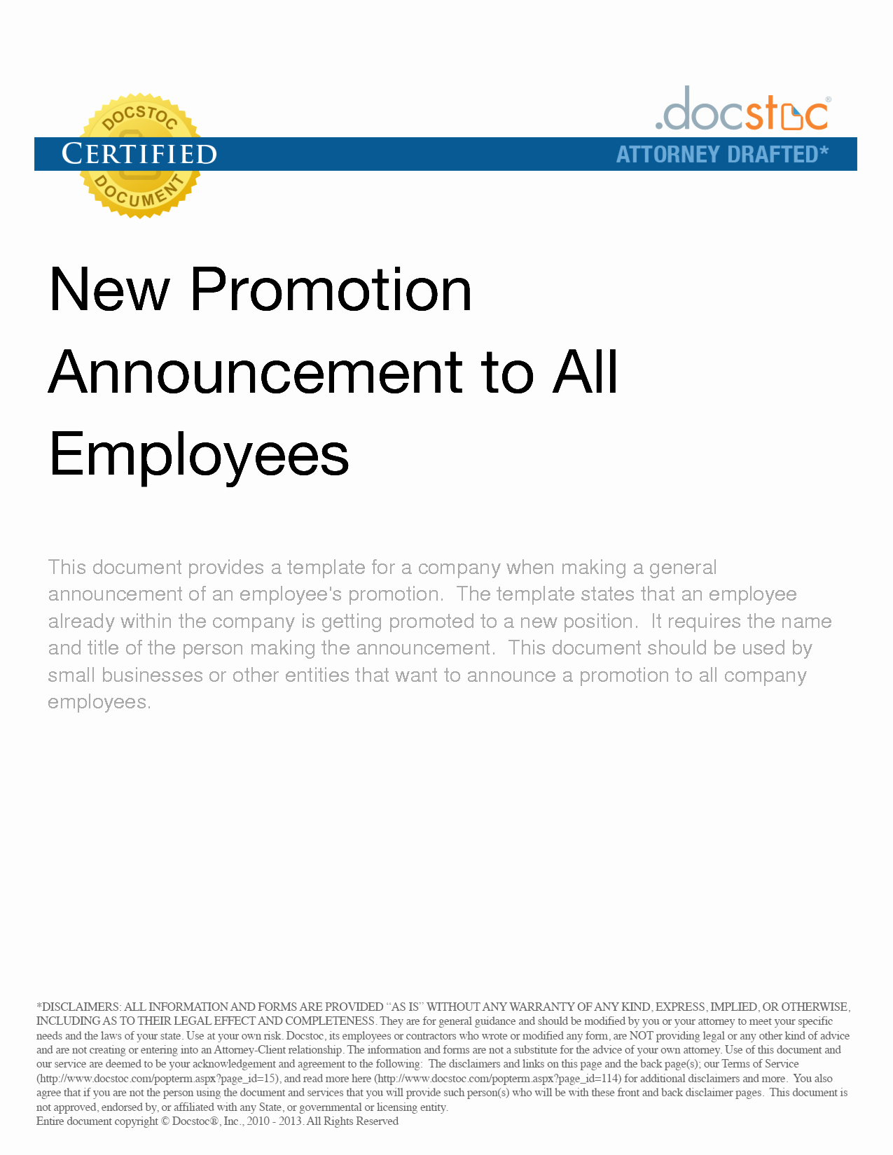 Promotion Announcement Templates Inspirational How to Announce A Promotion