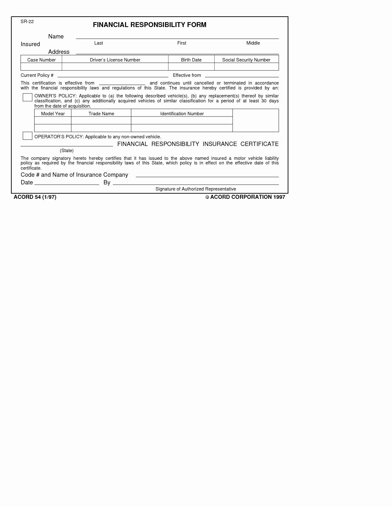 Proof Of Car Insurance Template Beautiful Texas Liability Insurance Card