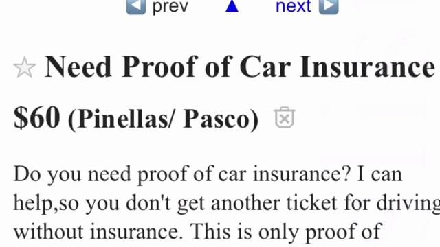 Proof Of Car Insurance Template Lovely Fake Insurance Card Scam Busted In Pinellas Park