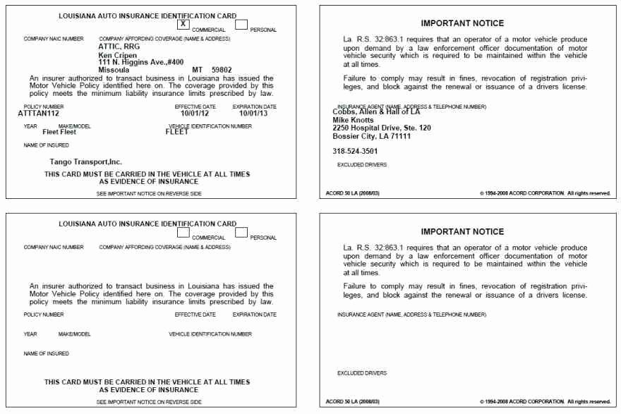 Proof Of Car Insurance Template Unique Proof Auto Insurance Template Free