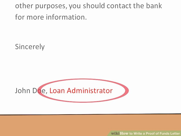 Proof Of Funds Letter Best Of How to Write A Proof Of Funds Letter 11 Steps with