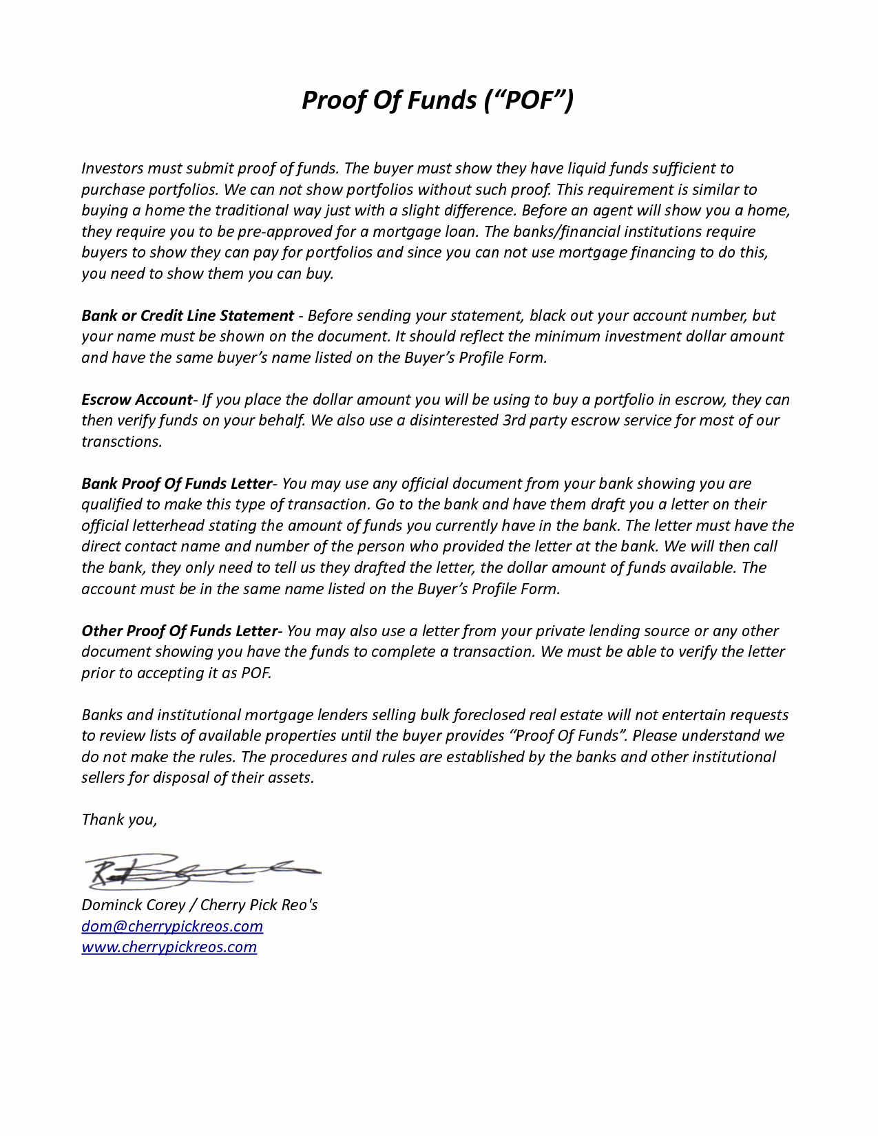 Proof Of Funds Letter Template Elegant Best S Of Proof Funds Letter Template Proof Of
