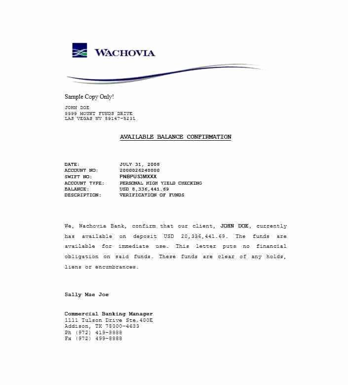 Proof Of Funds Letter Template Inspirational Sample Bank Guarantee Letter Philippines