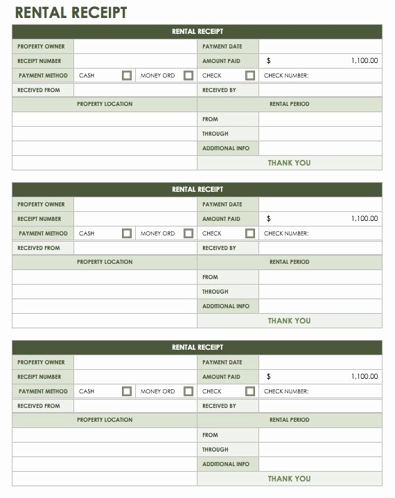 Proof Of Receipt Beautiful 13 Free Business Receipt Templates Smartsheet