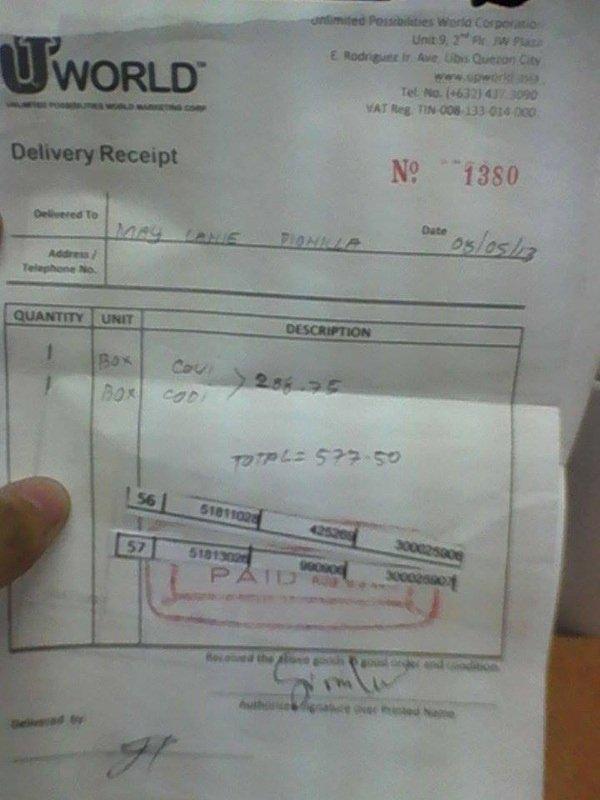 Proof Of Receipt Best Of Proof Of Receipt Maiya S Online Shop