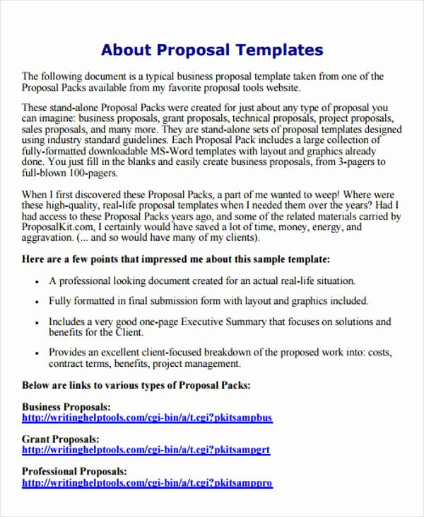 Proposal Email Sample Lovely Business Proposal Email to Client