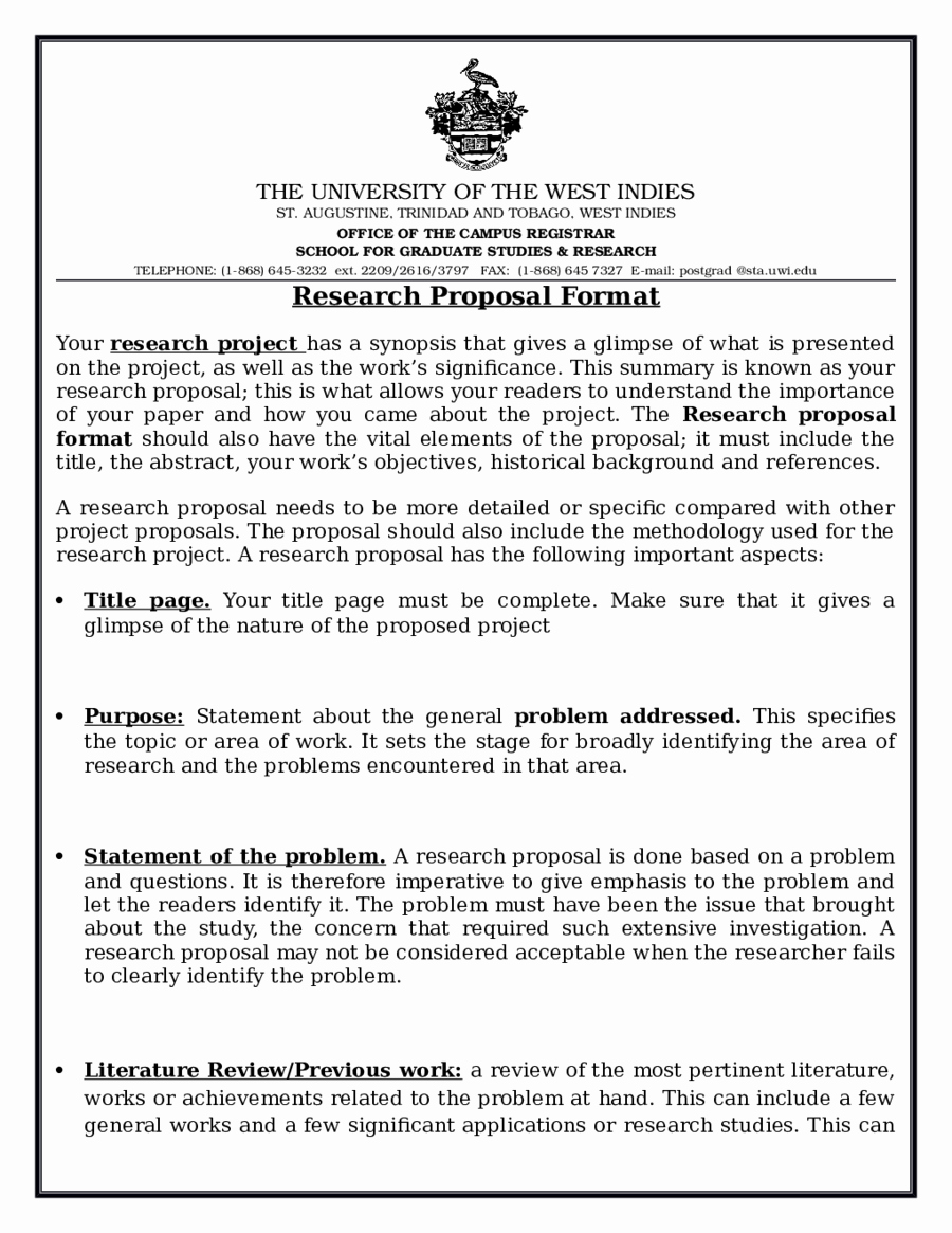 Proposal Outline Template Best Of 2018 Research Proposal Template Fillable Printable Pdf