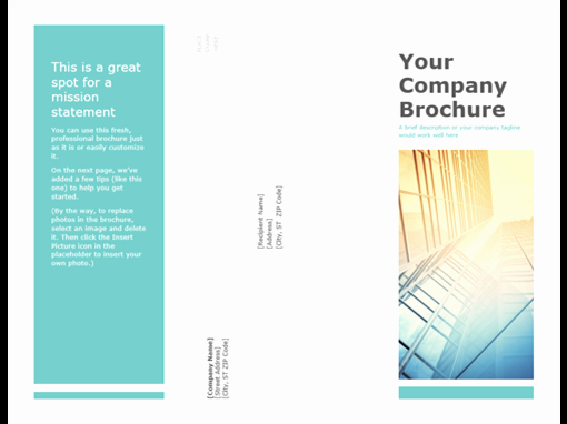 Prospectus Template Word Beautiful Brochures Fice