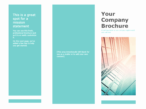 Prospectus Template Word Best Of Brochure