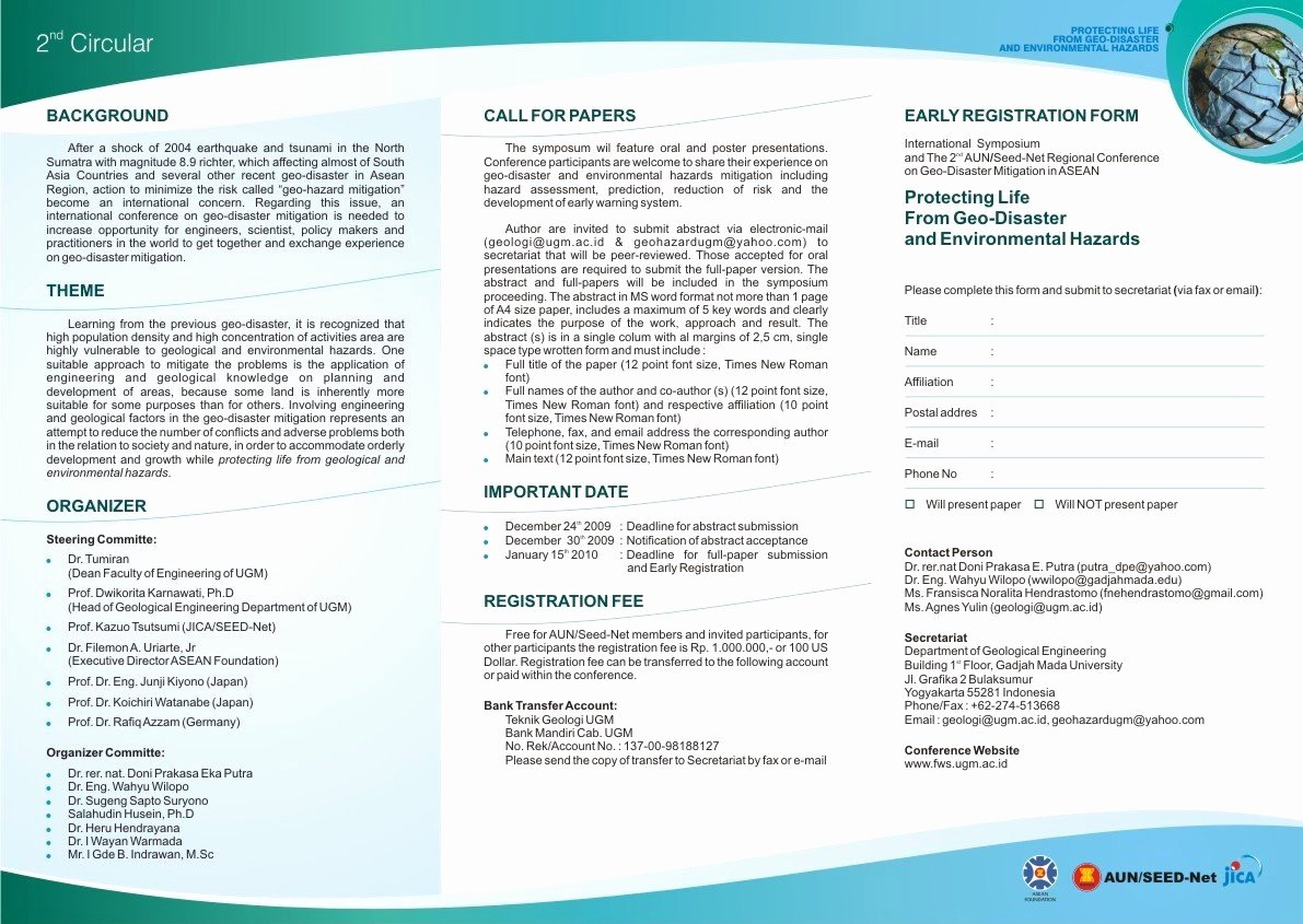 Prospectus Template Word Lovely Word Brochure Template