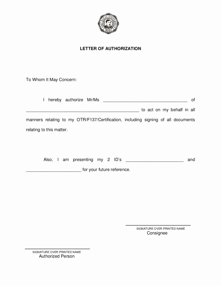 Proxy Letter Template Lovely Image Result for Sample Proxy Letter Garden