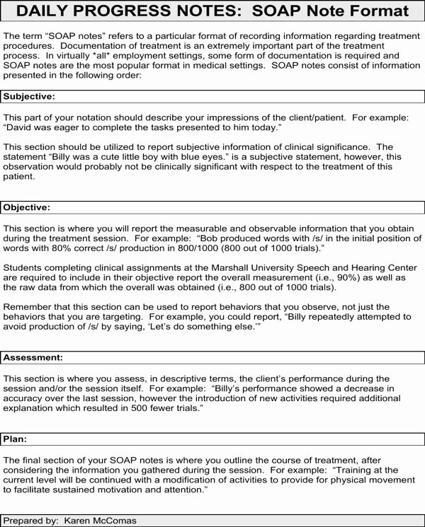 Psychiatric soap Note Example Luxury 17 Best Free Counseling Note Templates Images On Pinterest