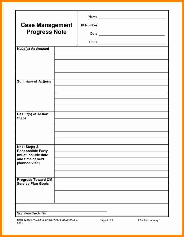 Psychotherapy Progress Notes Template Unique 6 Psychotherapy Progress Note Template