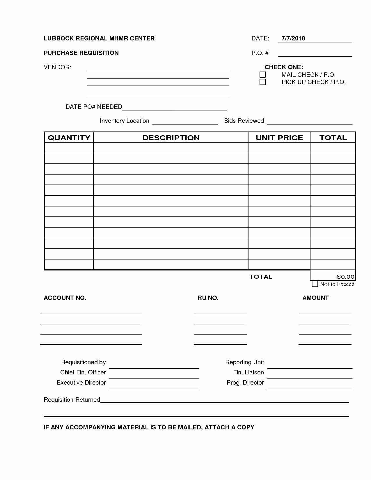 Purchase Request form Template Elegant 6 Best S Of Excel Purchase Requisition form Template