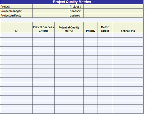 Quality Control Template Excel Inspirational Excel Template
