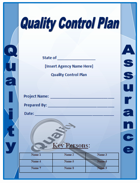 Quality Control Template Excel Inspirational Quality Control Plan Template Microsoft Word Templates