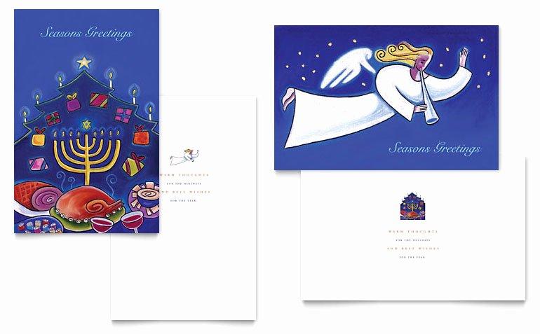 Quarter Fold Card Template Word Elegant Quarter Fold Card Template Word