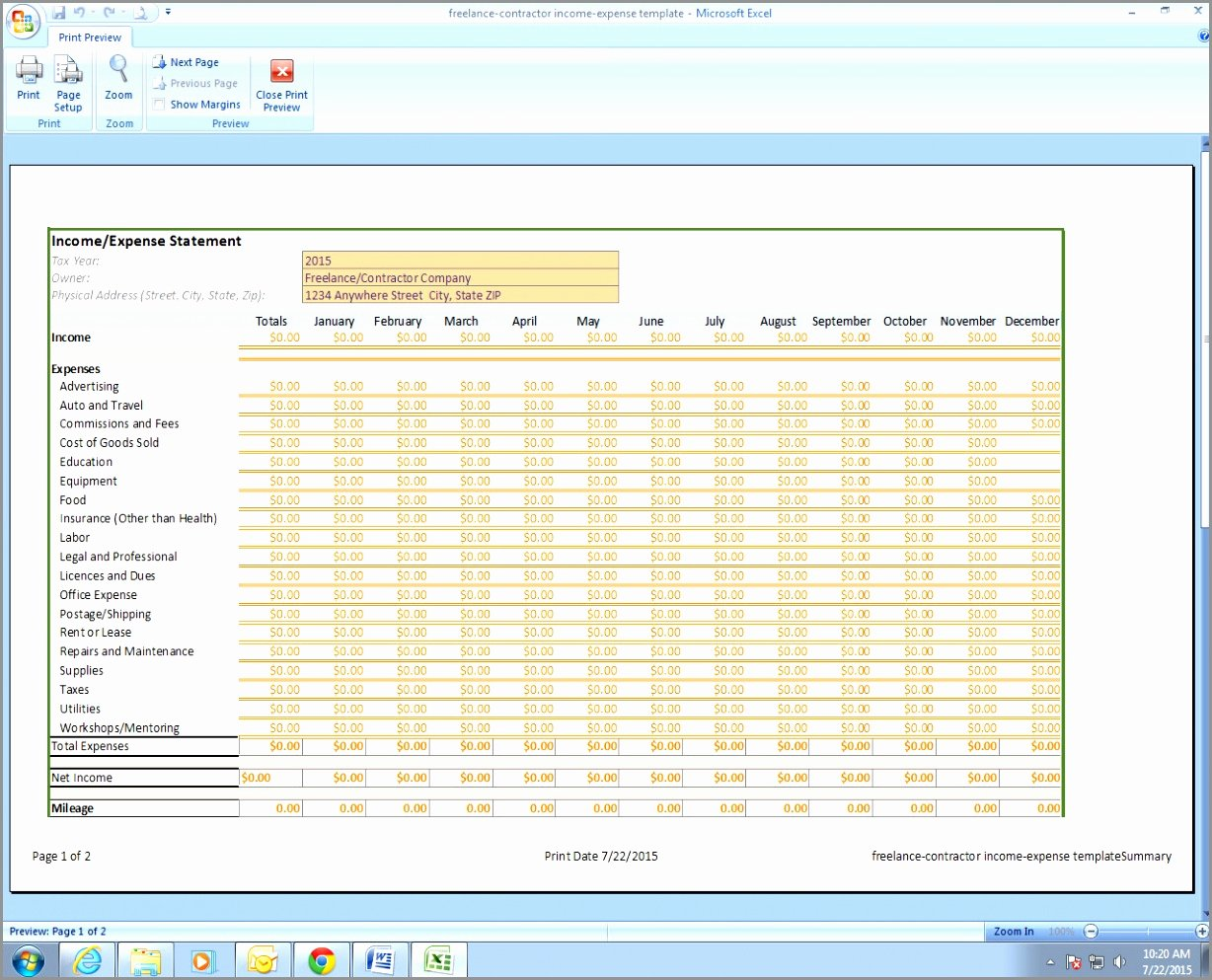 Quarterly Report Template Excel Fresh 5 Monthly Financial Report Excel Template Ryowo