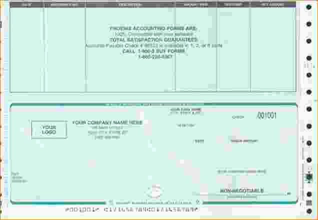 Quickbooks Check Template Word Awesome 28 Of Payroll Check Template