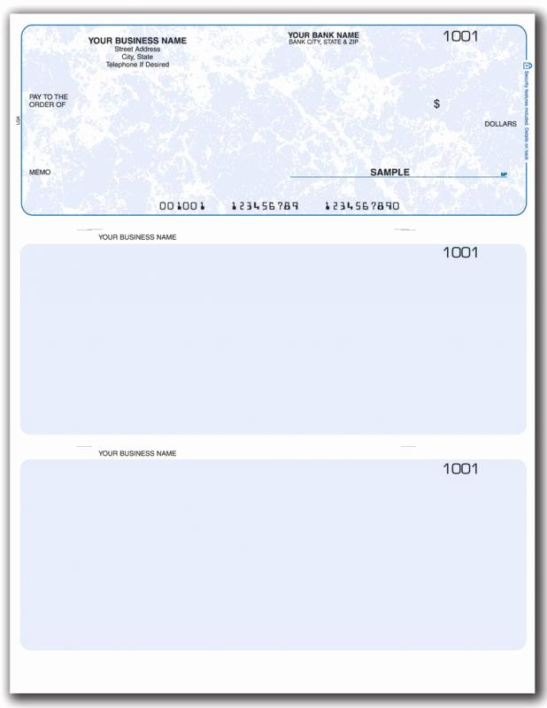 Quickbooks Check Template Word Unique Business Check Template