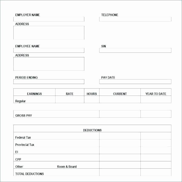 Quickbooks Pay Stub Template Elegant Create A Pay Stub with Quickbooks
