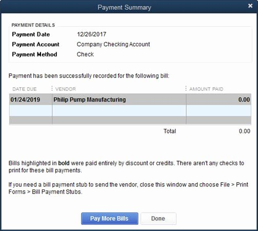 Quickbooks Pay Stub Template Lovely Quickbooks 2014 Credits On Bill Payment Stubs