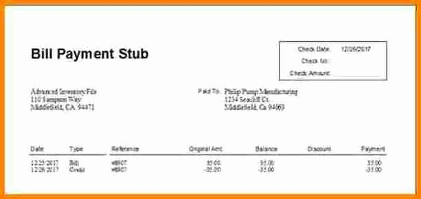Quickbooks Pay Stub Template New 5 Quickbooks Pay Stub Template