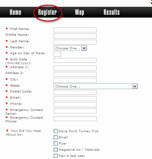 Race Registration form Luxury Trimar Usa What We Do