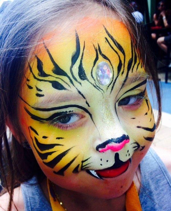 Rachel Hardy Upenn Wharton Inspirational Face Painting Philadelphia