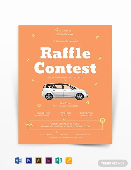Raffle Flyer Template Awesome Raffle Ticket Voucher Template Download 412 Vouchers In