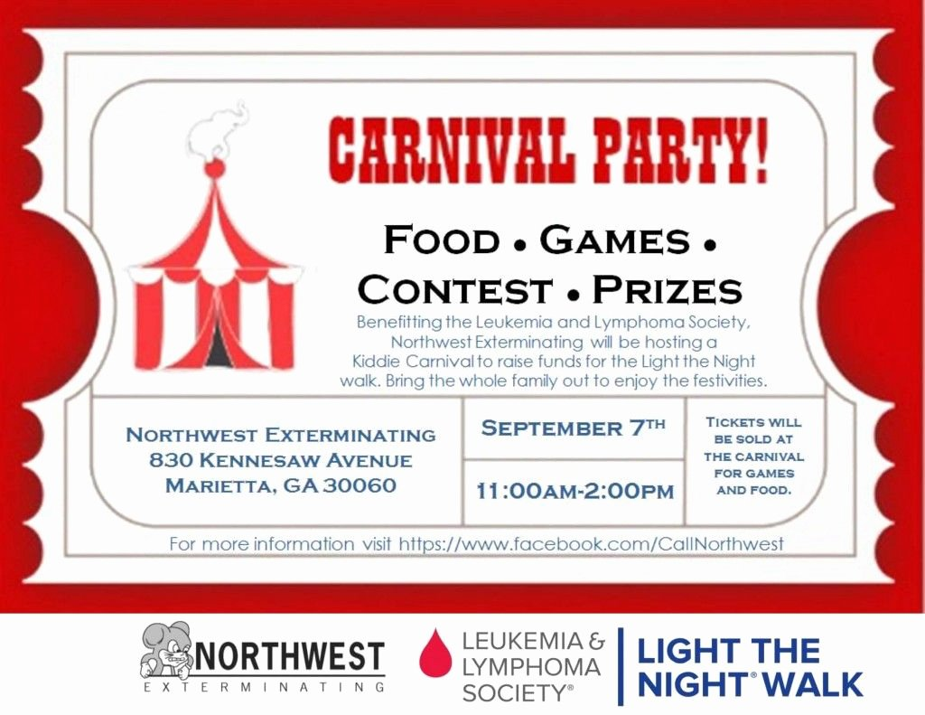 Raffle Flyer Template Free Inspirational Carnival Flyer Raffle Ticket Scu In 2019