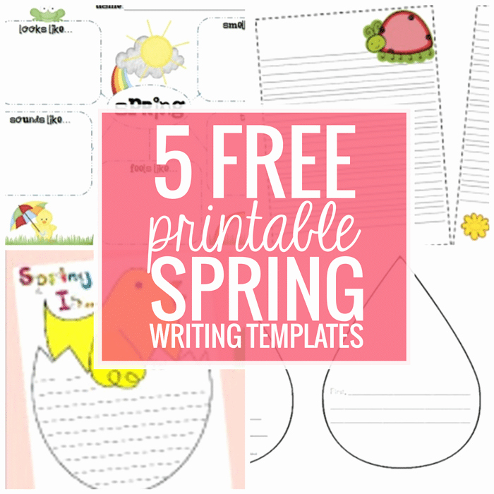 Raindrop Writing Template New 5 Free Printable Spring Writing Templates Teach Junkie
