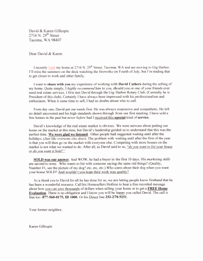 Real Estate Agent Introduction Letter Best Of Real Estate Introduction Letter to Friends Template