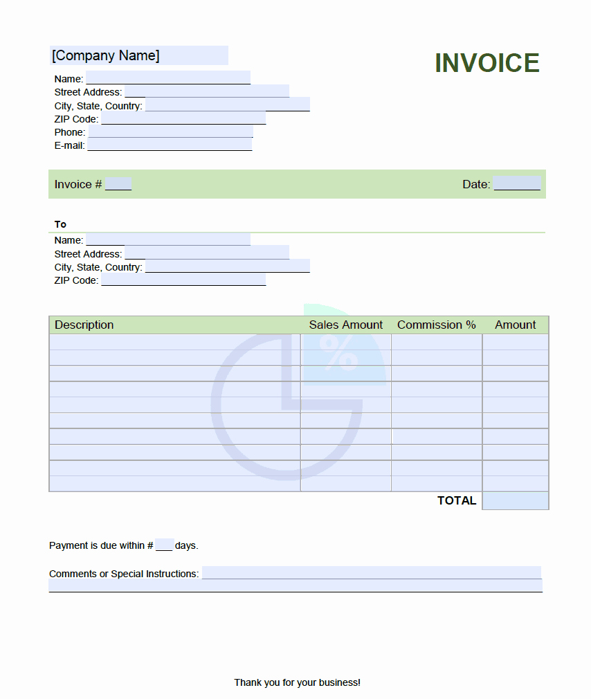 Real Estate Commission Invoice Template New Sales Mission Invoice Template Lineinvoice