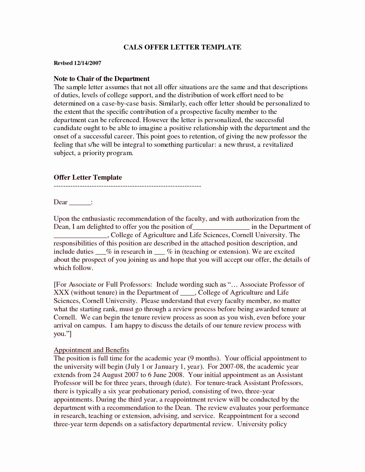 Real Estate Offer Letter Template Free Elegant Free Printable Fer Letter Template form Generic